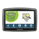 TomTom XXL 550TM 5-Inch Portable GPS Navigator - Lifetime Traffic & Maps Edition
