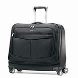 The Samsonite Spinner Garment Bag is like having your wardrobe on wheels.