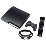 SONY ENTERTAINMENT Playstation 3 160GB PS3 Slim Gaming Console Bundle with Blu-Ray Remote and HDMI Cable