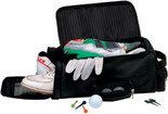 Royce Leather - Golf Shoe And Accessory Bag 677-10 - Black